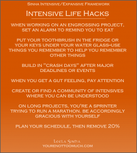 intensivelifehacks
